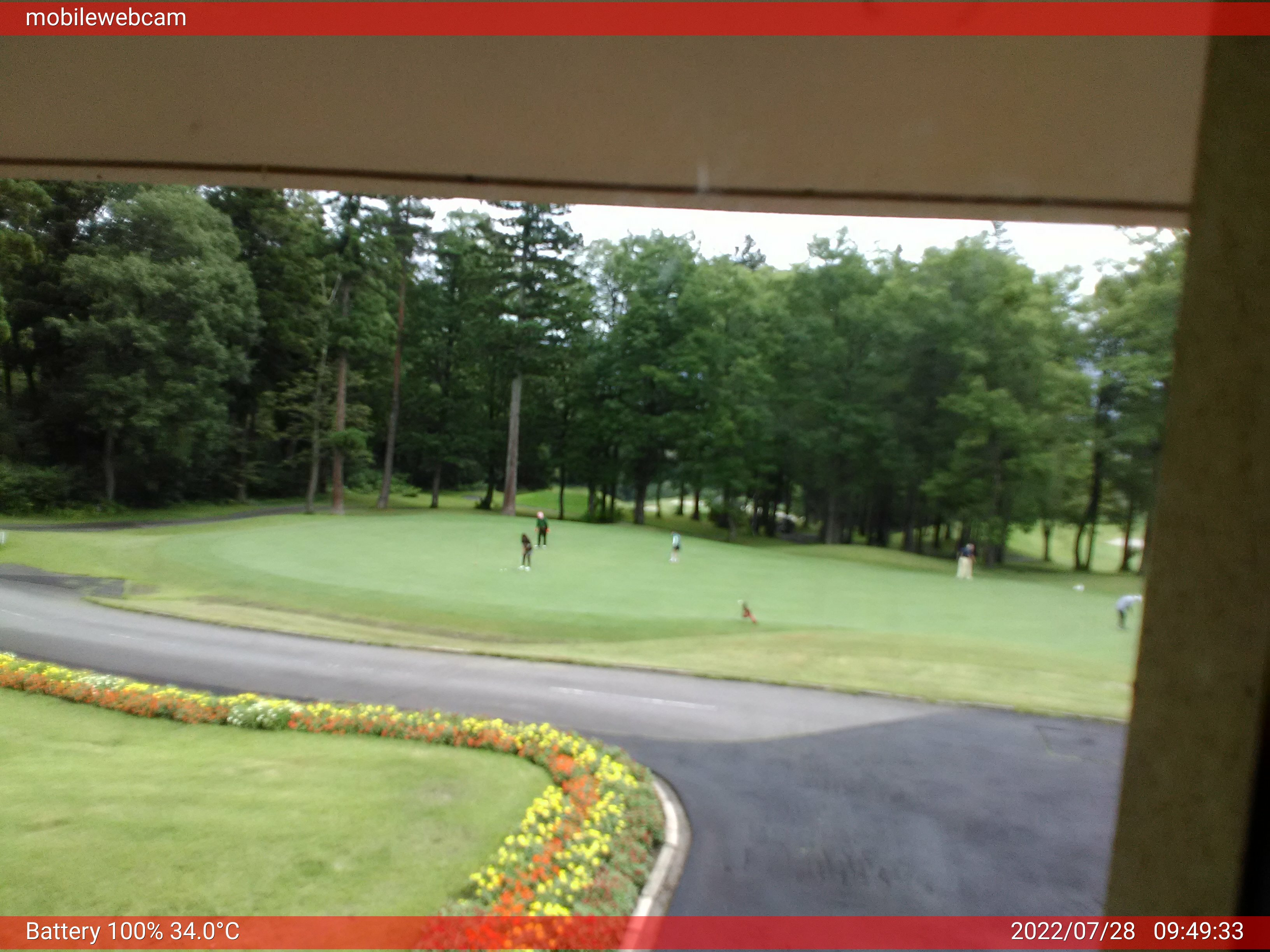 Golf Myoko webcam